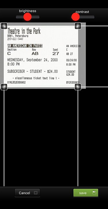 ScanTicket app capture 2